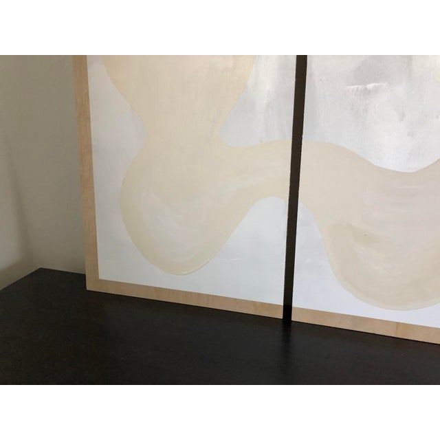 2010s Winter Whites Triptych For Sale - Image 5 of 10