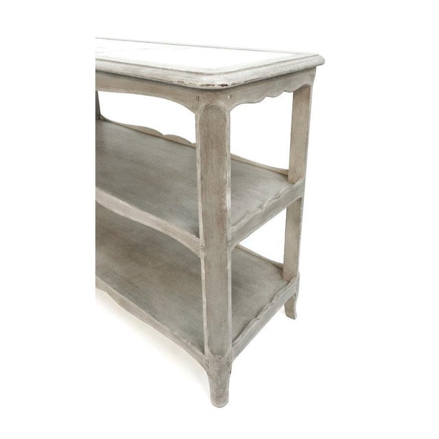 Mellon model Louis XV two-tier table For Sale In New York - Image 6 of 8