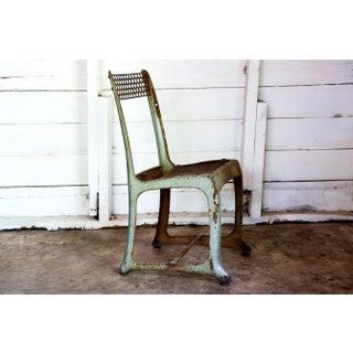1950s Vintage Metal Envoy #13 Vintage Americana School Chair Preview