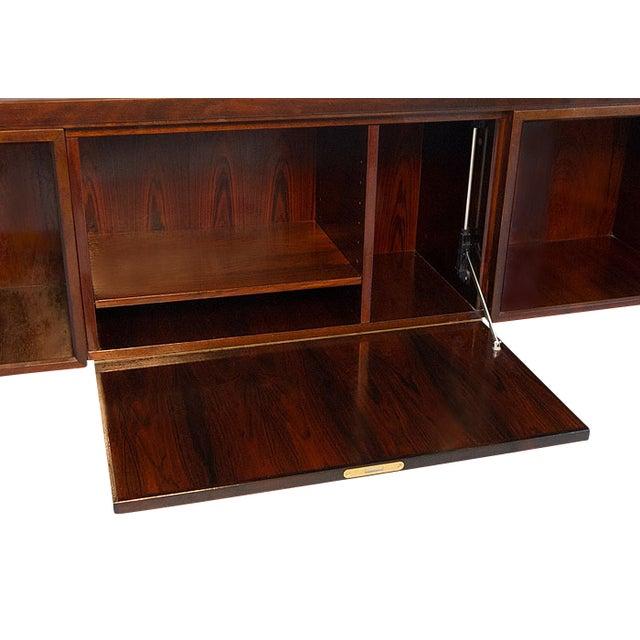 Danish Rosewood Desk by Gunni Omann - Image 7 of 9