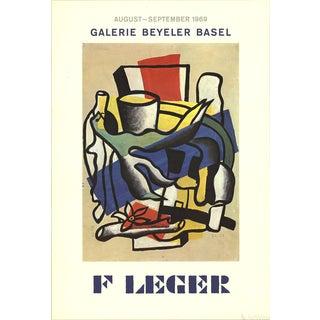 Fernand Leger, Galerie Beyeler Basel, 1969, Offset Lithograph For Sale