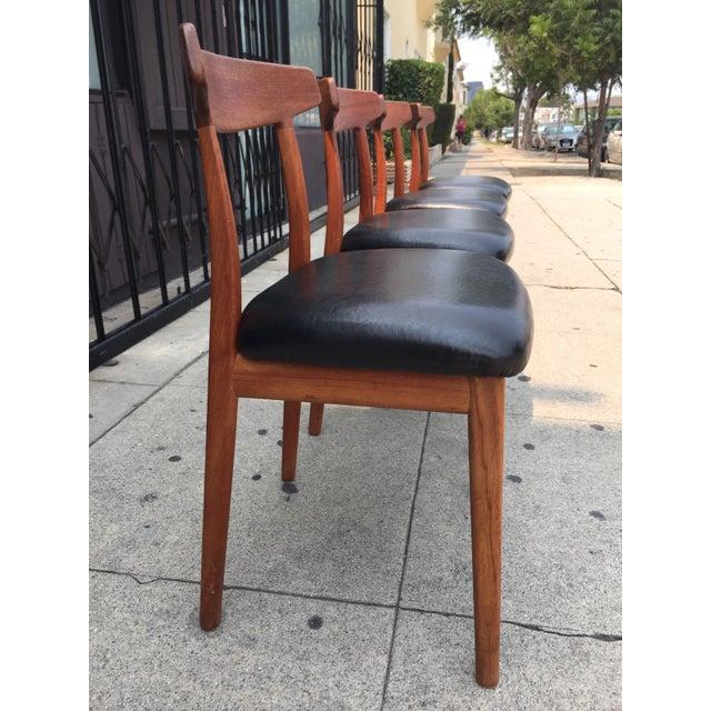 Bruno Hansen Danish Modern Chairs - Set of 4 - Image 5 of 9