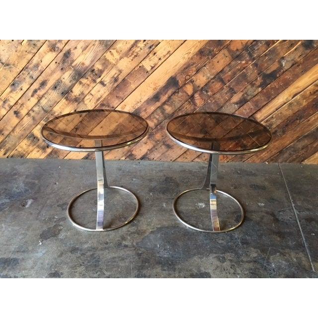 Gardner Leaver for Steelcase Side Tables - Pair - Image 2 of 7
