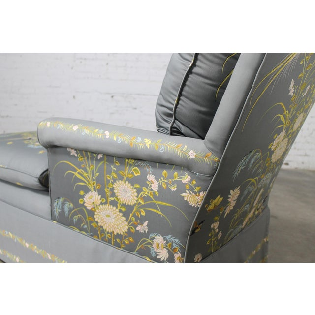 Vintage 1940's Newly Upholstered Double Armed Chaise Lounge - Image 6 of 11