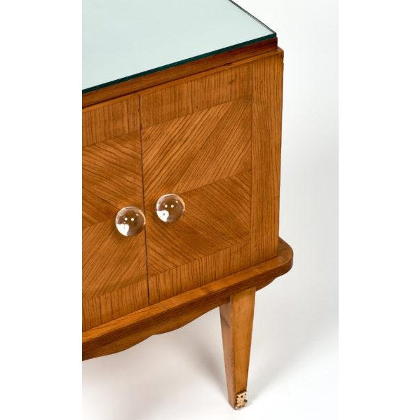 1950s French Mid-Century Modern Side Tables - a pair For Sale - Image 5 of 10