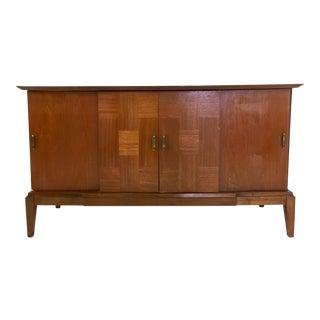 Vintage Mid Century Modern Credenza Cabinet