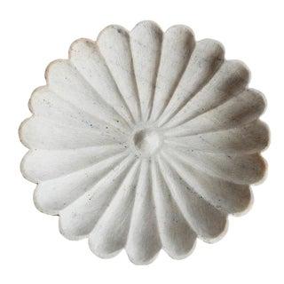 White Marble Daisy Dish
