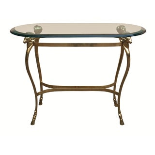Maison Jansen Style Accent Table For Sale