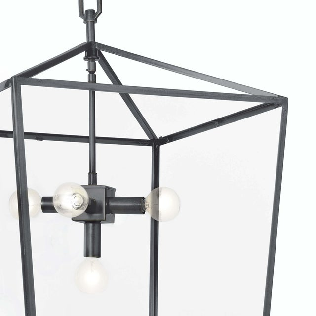 Traditional Camden Lantern in Oil Rubbed Bronze For Sale - Image 3 of 6