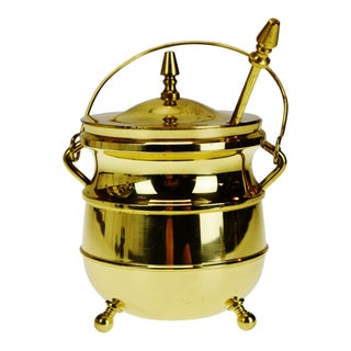Vintage Brass Colored Cape Cod Fire Starter For Sale