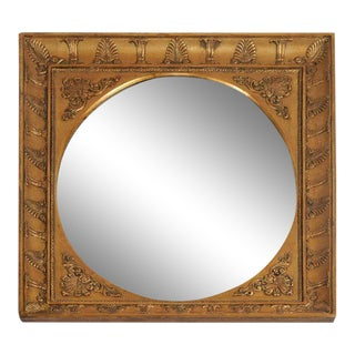 French Charles X Neoclassical Style Giltwood Mirror For Sale