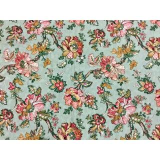 Stanley King Studio Vat Dye Screen Print Upholstery Fabric For Sale