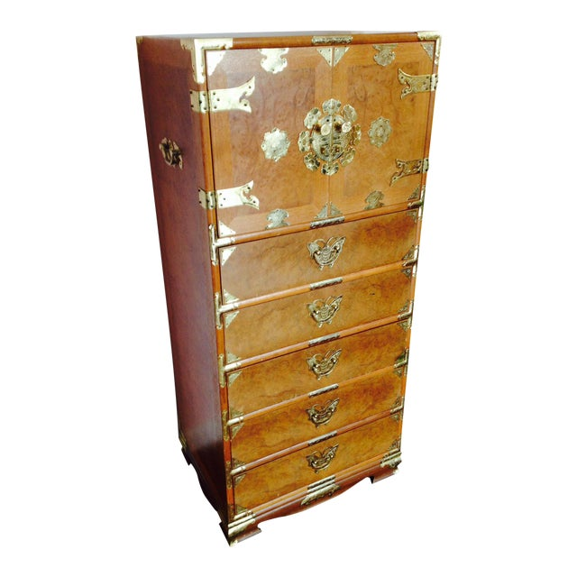 Vintage Asian Camphorwood Dresser - Image 1 of 8