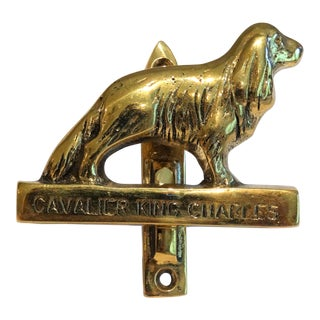 Cavalier King Charles Dog Door Knocker