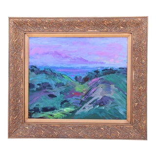 Juan Guzman, Santa Barbara Landscape Seascape Oil Painting For Sale