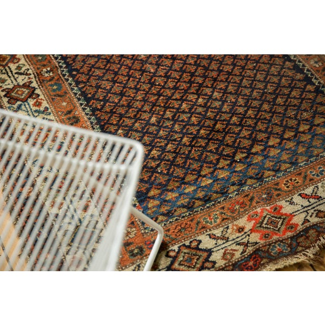 "Old New House Vintage Hamadan Rug - 3'7"" X 6' For Sale - Image 4 of 12"