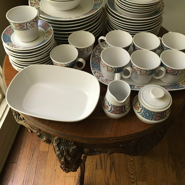 Japanese Vintage Noritake Progression Ming Garden Dinnerware - 54 Piece Set,reduced Final For Sale - Image 3 of 11