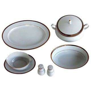 Vintage Noritake China Elysee Pattern Serving Pieces - Set of 6
