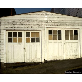 "Contemporary Night Photograph ""Double Garage"" by John Vias For Sale"