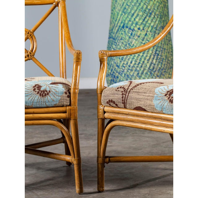 1970s Vintage McGuire Bamboo Target Design Chairs - a Pair For Sale In Houston - Image 6 of 13