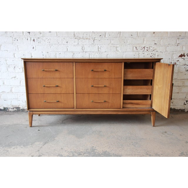 Mid-Century Modern Long Dresser by Century Furniture For Sale - Image 5 of 10