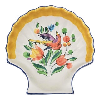 Herend Shell Shaped Small Serving Dish For Sale