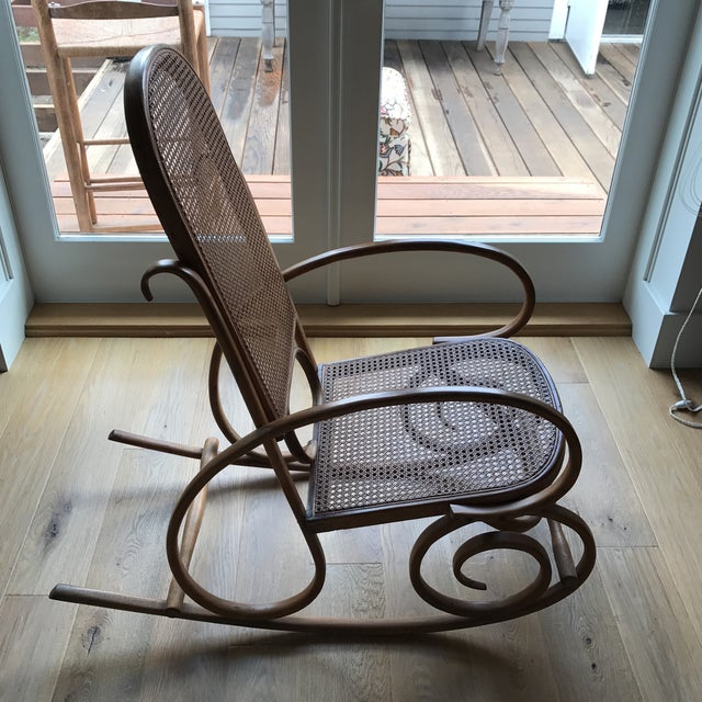 Spanish Bentwood Rocking Chair Rocker For Sale In Los Angeles - Image 6 of 10