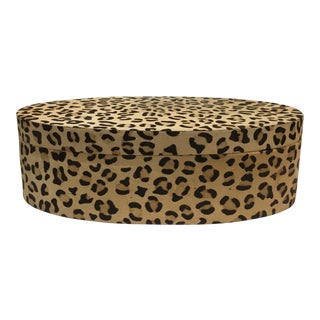 Cheetah Hair and Hide Covered Box For Sale