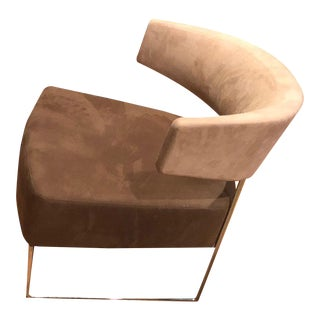 1990s Vintage Contemporary Andreu World Oyster Lounge Chair For Sale