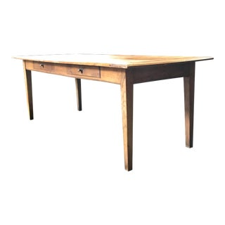Authentic French Country Farmhouse Table For Sale