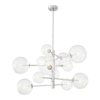 Nickel Sputnik Chandelier | Eichholtz Argento S For Sale
