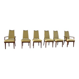 John Keal for Brown Saltman Dining Chairs - Set of 6 For Sale