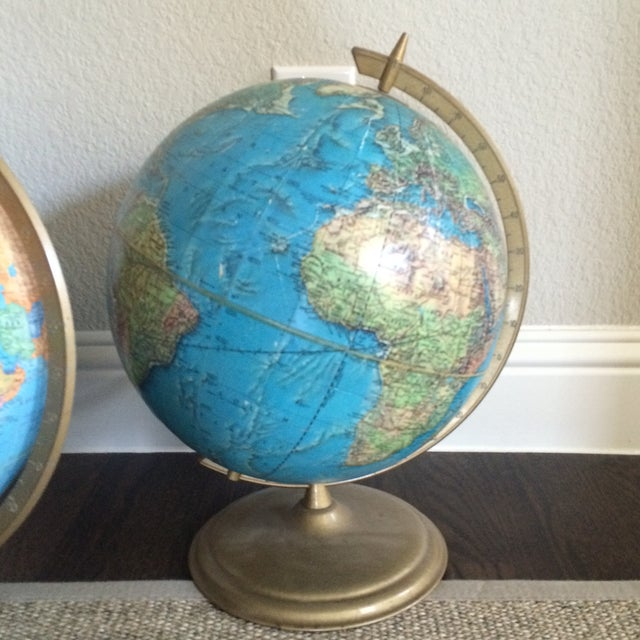 Mixed Group of Globes - Set of 3 - Image 5 of 10