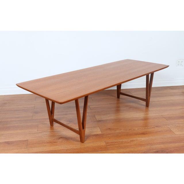 Kai Kristiansen Style Coffee Table - Image 6 of 9