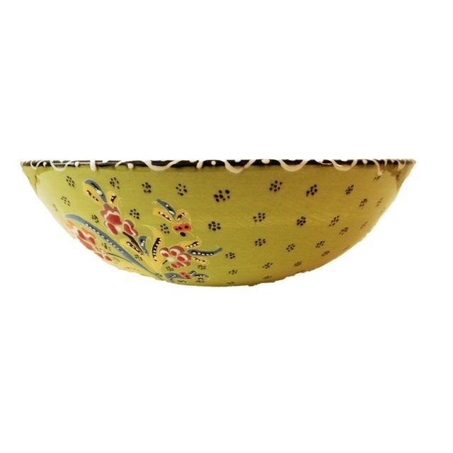 Turkish Hand Painted Ottoman Bowl - Image 6 of 10
