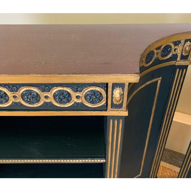 Pair of Regency Style Bookcases For Sale - Image 9 of 12