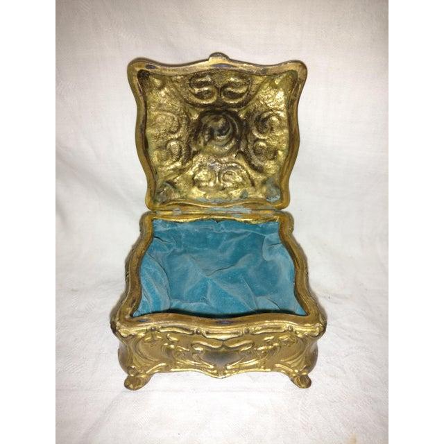 Art Nouveau Antique Art Nouveau Jennings Brothers Jewelry Casket For Sale - Image 3 of 7