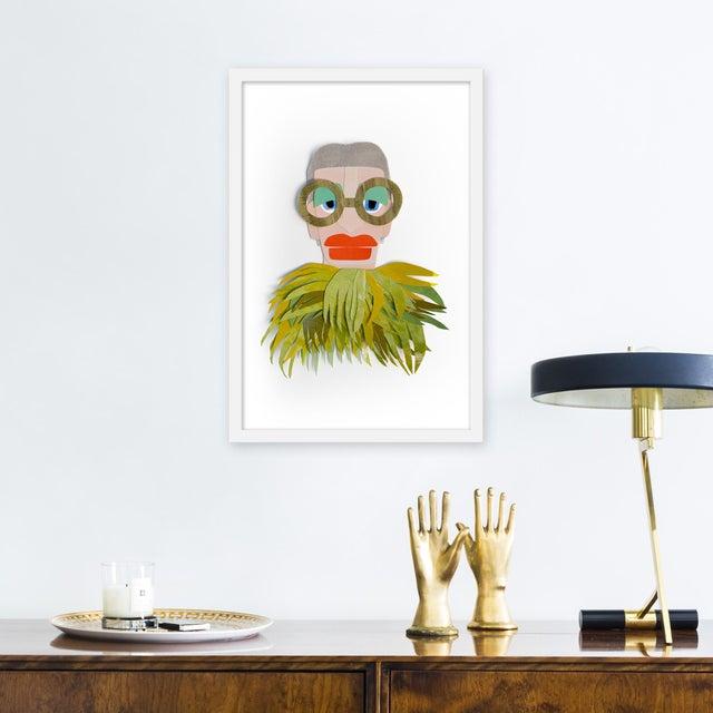 Giclée on textured fine art paper with white frame. Morgan Elvington Walker studied art and art history at Clemson...
