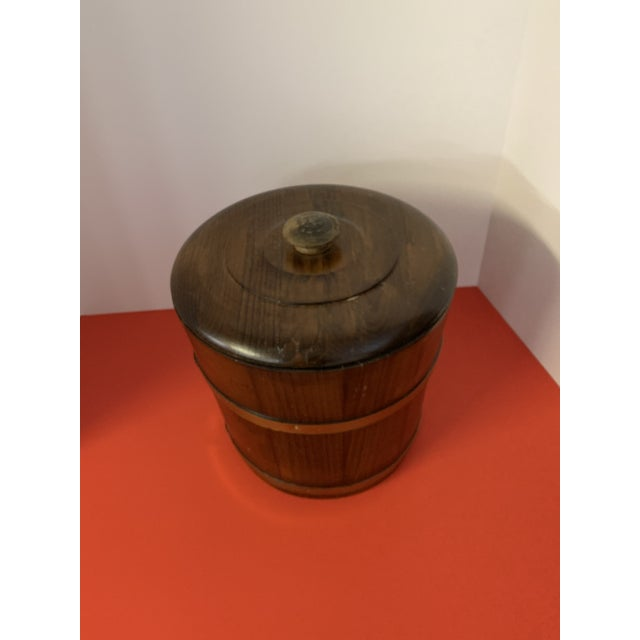 Late 19th Century Oak Ice Bucket For Sale - Image 6 of 6