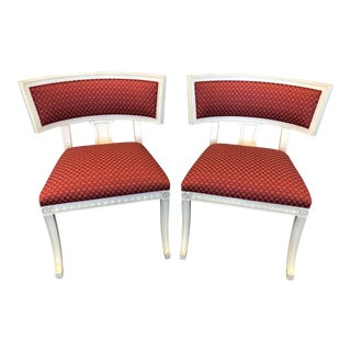 Modern Hickory Chair Klimos Chairs - A Pair For Sale