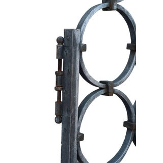 Pair of Heavy Cast Iron Gates Preview