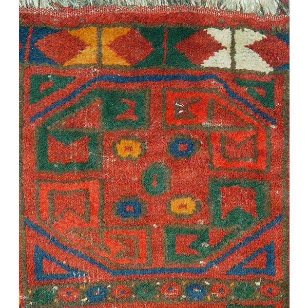 Uzbek Small Pile Rug Napramash #6 - 1′7″ × 2′3″ - Image 2 of 4