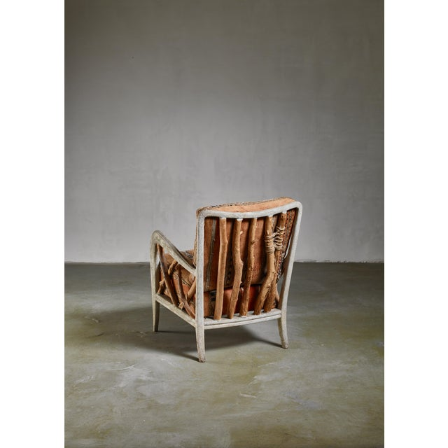 Mid-Century Modern Guglielmo Ulrich Chair, Italy, 1940s For Sale - Image 3 of 7