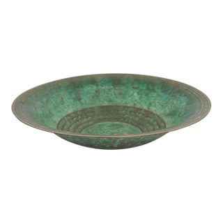 1920s Carl Sorenson Bronze Bowl For Sale