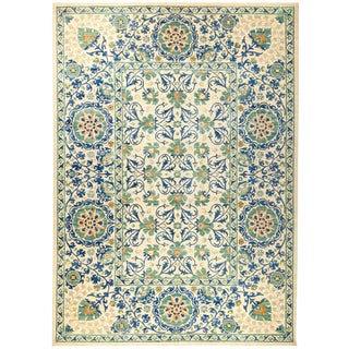 "Suzani Hand Knotted Area Rug - 10'1"" x 14'1"""