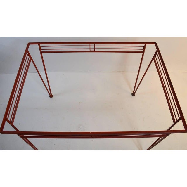 Mid-Century Modern Salterini Patio Garden Dining Table For Sale In New York - Image 6 of 10