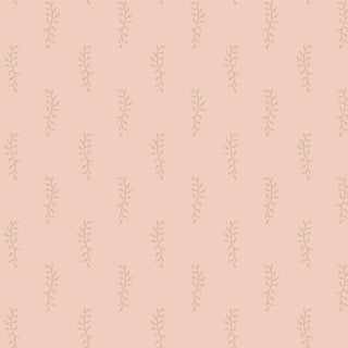 House of Harris Airlie Fabric, Peach