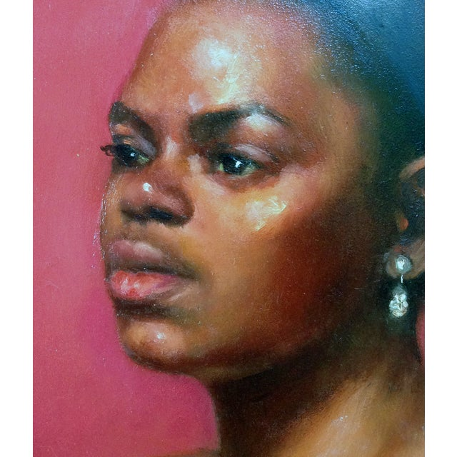 """""""Deep in Thoughts"""" Original Oil Portrait - Image 2 of 4"""