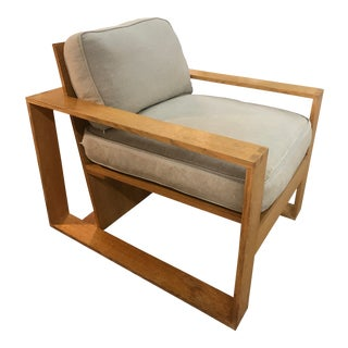 S. Russel Groves Wood Architectural Chair
