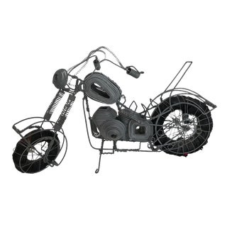 Curtis Jere Motorcycle Sculpture For Sale